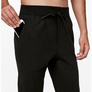 lululemon athletica Pants - Lulu lemon black abc men's joggers